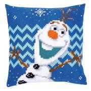 Vervaco Olaf Cushion Cross Stitch Kit