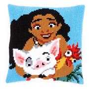 Moana Cushion - Vervaco Cross Stitch Kit