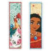 Moana Bookmarks - Vervaco Cross Stitch Kit