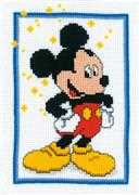 Mickey Mouse - Vervaco Cross Stitch Kit