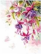 Vervaco Fuchsia Cross Stitch Kit
