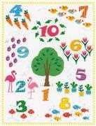 Count to 10 Sampler - Vervaco Cross Stitch Kit