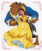 Vervaco Beauty and the Beast Cross Stitch Kit