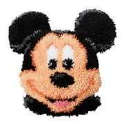 Vervaco Mickey Shaped Cushion Latch Hook Cushion Kit