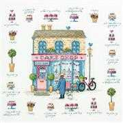Cake Shop - Dimensions Cross Stitch Kit