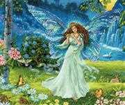 Dimensions Spring Fairy Cross Stitch Kit