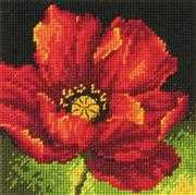 Dimensions Red Poppy Tapestry Kit