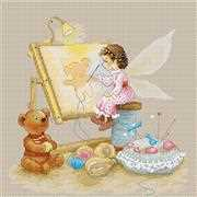Stitching Fairy - Luca-S Cross Stitch Kit