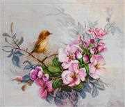 Luca-S Little Birdie - Aida Cross Stitch Kit