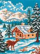 Winter Wonderland - Grafitec Tapestry Canvas