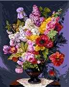 Bouquet Champetre - Grafitec Tapestry Canvas