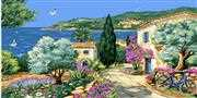 Grafitec La Provence Tapestry Canvas