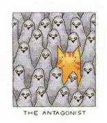 The Antagonist - Heritage Cross Stitch Kit