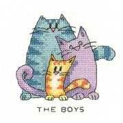 The Boys - Heritage Cross Stitch Kit