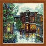 RIOLIS Rainy Summer Cross Stitch Kit