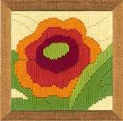 RIOLIS Poppy Longstitch Long Stitch Kit