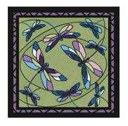 RIOLIS Dragonflies Cushion/Panel Cross Stitch Kit