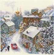 RIOLIS Snowy Winter Christmas Cross Stitch Kit