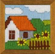 RIOLIS Cottage Garden Long Stitch Kit