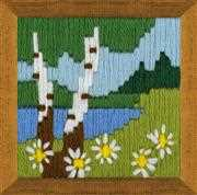 RIOLIS Forest Lake Long Stitch Kit