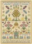 Bothy Threads The Birthday Sampler Birth Sampler Cross Stitch Kit