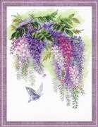 RIOLIS Wisteria Cross Stitch Kit