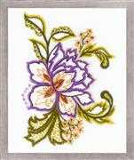 RIOLIS Flower Sketch Embroidery Kit