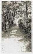 Permin Forest Road Cross Stitch Kit