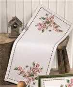 Apple Blossom Runner - Permin Cross Stitch Kit