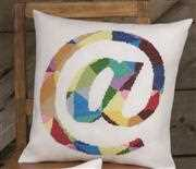 At Symbol Cushion - Permin Cross Stitch Kit