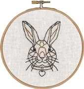 Permin Geo-Rabbit Embroidery Kit