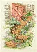 Dimensions Garden Steps Cross Stitch Kit
