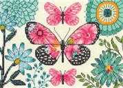 Butterfly Dream - Dimensions Cross Stitch Kit