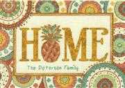 Dimensions Pineapple Home Cross Stitch Kit