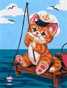 Grafitec Fishy Kitty Tapestry Canvas