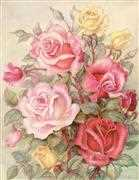 Romantic Roses - Grafitec Tapestry Canvas