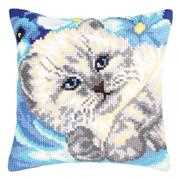 Collection D'Art Cute Kitten Cross Stitch