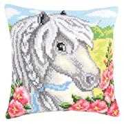 White Horse - Collection D'Art Cross Stitch Kit