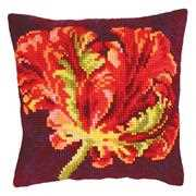 Red Tulip II - Collection D'Art Cross Stitch Kit