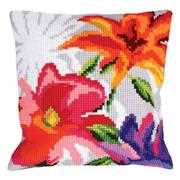 Collection D'Art Stylish Flowers I Cross Stitch Kit