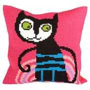 Kitty Pink - Collection D'Art Cross Stitch Kit