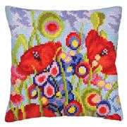Red Poppies II - Collection D'Art Cross Stitch Kit