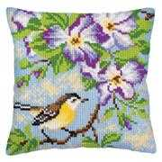 Bird on Branch - Collection D'Art Cross Stitch Kit