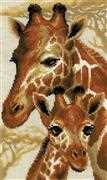 RIOLIS Giraffes Cross Stitch Kit