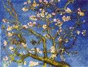 RIOLIS Almond Blossoms - Van Gogh Cross Stitch Kit