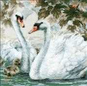 White Swans - RIOLIS Cross Stitch Kit