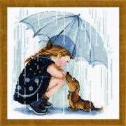 Under my Umbrella - RIOLIS Cross Stitch Kit