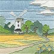 Derwentwater Designs Windmill Long Stitch Kit