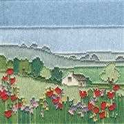 Derwentwater Designs Meadow Long Stitch Kit