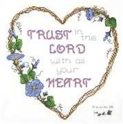 Trust in the Lord - Janlynn Cross Stitch Kit